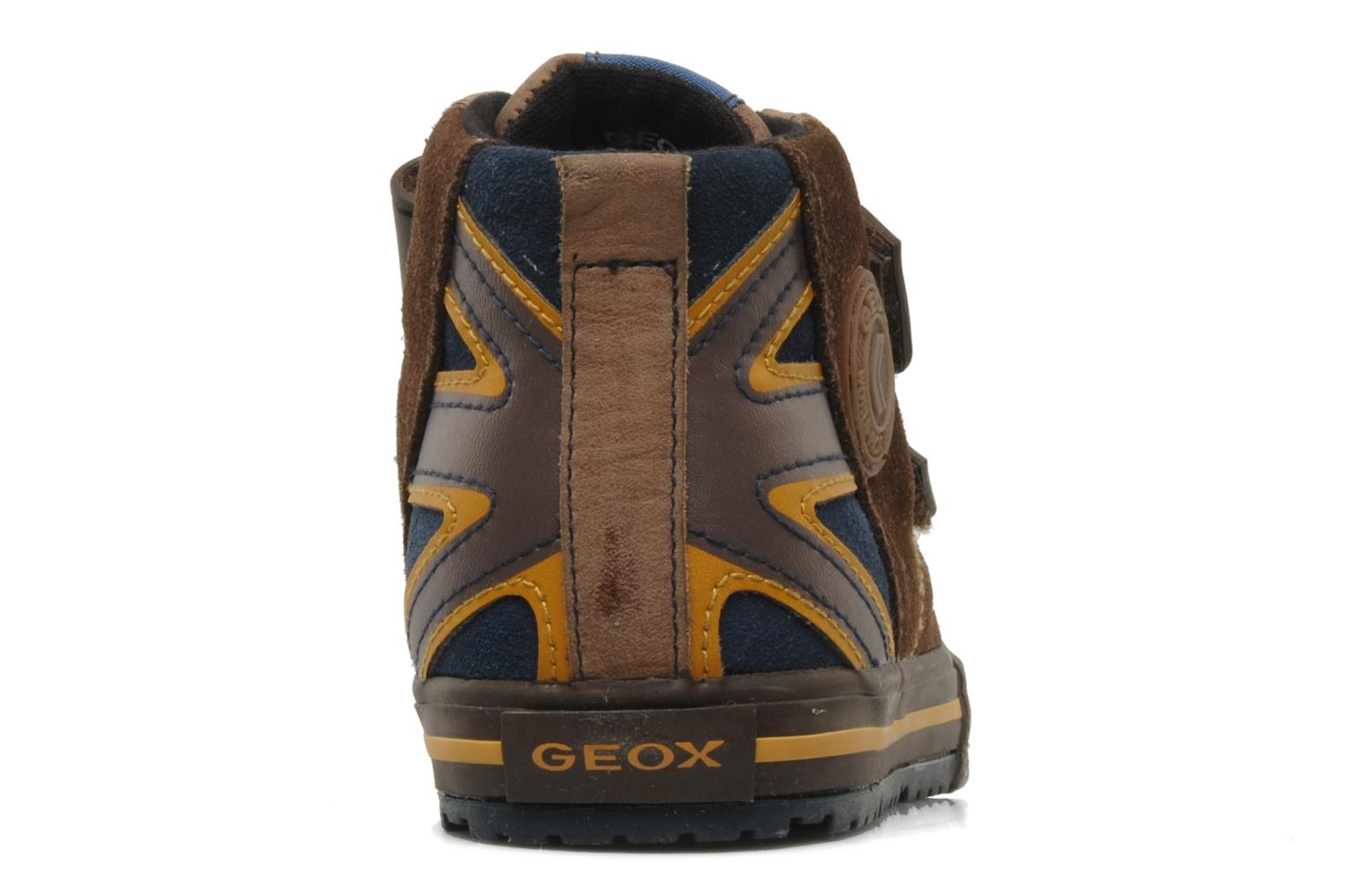 Trainers Geox J ball b Brown view from the right