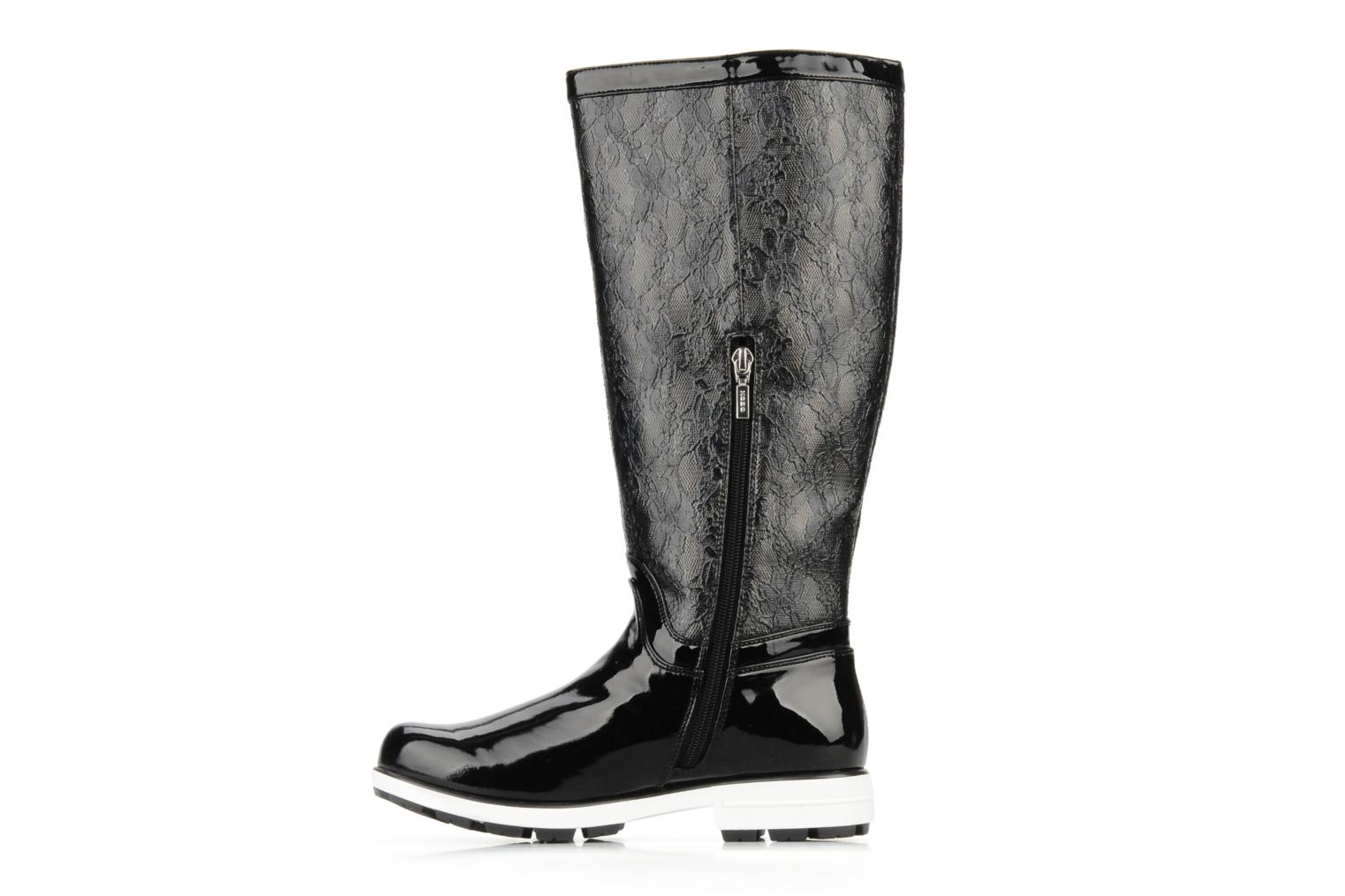 Boots & wellies Geox D dina st c Black front view