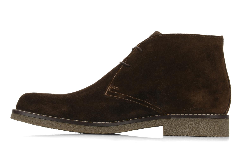 Bottines et boots Geox U claudio b Noir vue face