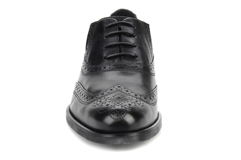 Lace-up shoes Geox U brooklyn k Black model view