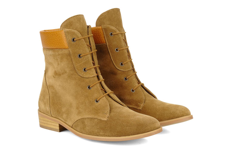 Bottines et boots Le Mont St Michel Lakewood Marron vue 3/4
