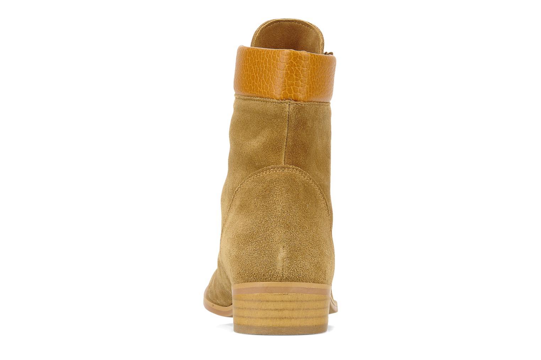 Bottines et boots Le Mont St Michel Lakewood Marron vue droite