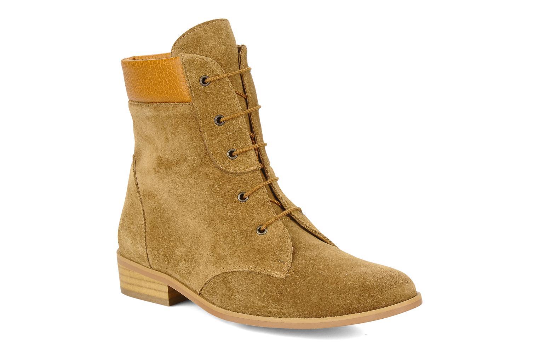 Bottines et boots Le Mont St Michel Lakewood Marron vue détail/paire