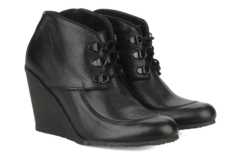 Bottines et boots Le Mont St Michel Alameda Noir vue 3/4