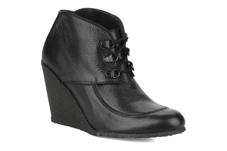 Boots en enkellaarsjes Le Mont St Michel Alameda Zwart detail