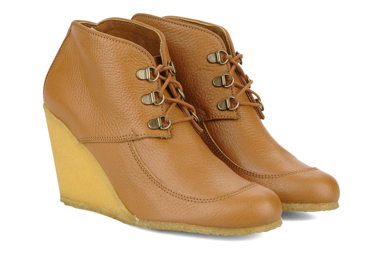 Boots en enkellaarsjes Le Mont St Michel Alameda Bruin 3/4'