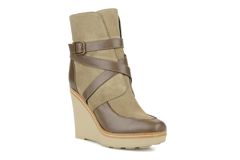 Bottines et boots Castaner Basel Beige vue détail/paire