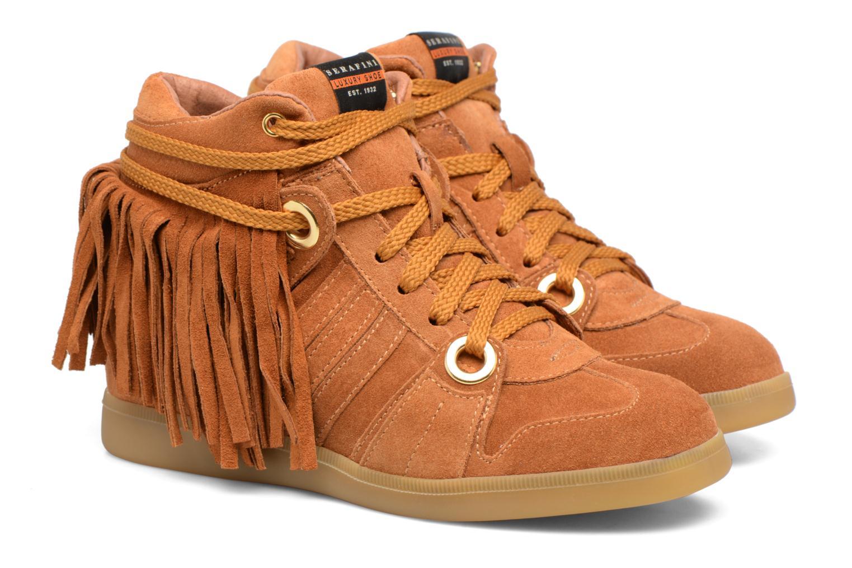 Sneakers Serafini Manhattan Bruin 3/4'