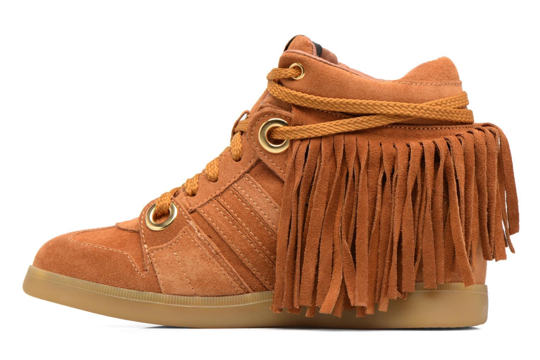 Sneakers Serafini Manhattan Bruin voorkant