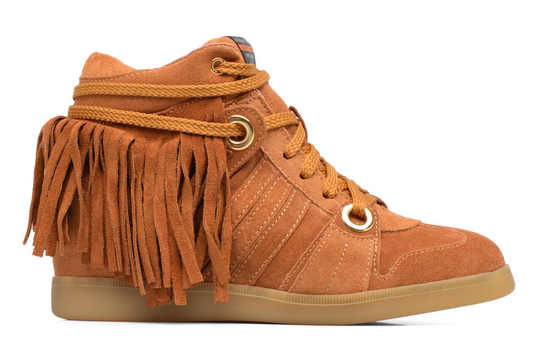 Sneakers Serafini Manhattan Bruin achterkant