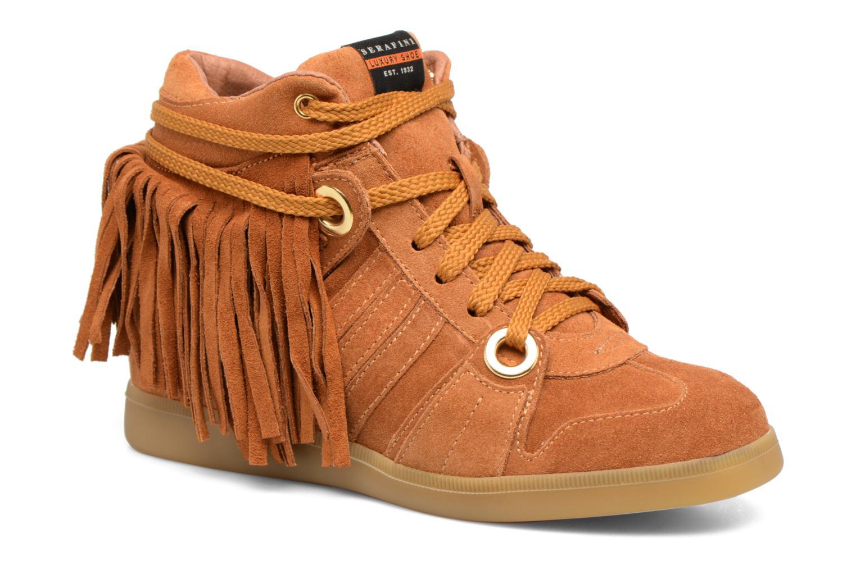 Sneakers Serafini Manhattan Bruin detail