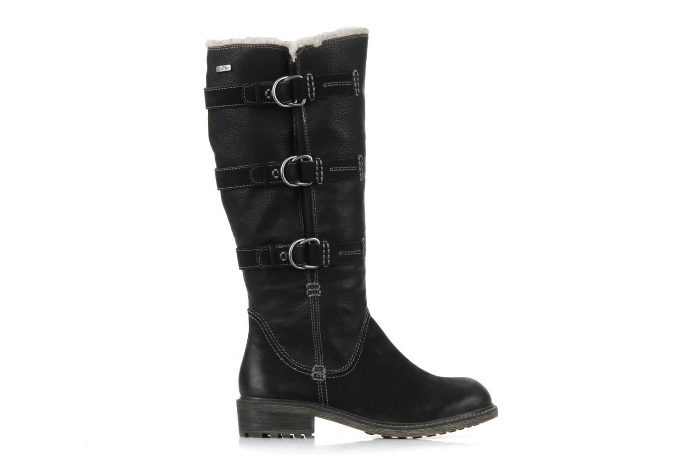 Margo Black leather/ imit nappa
