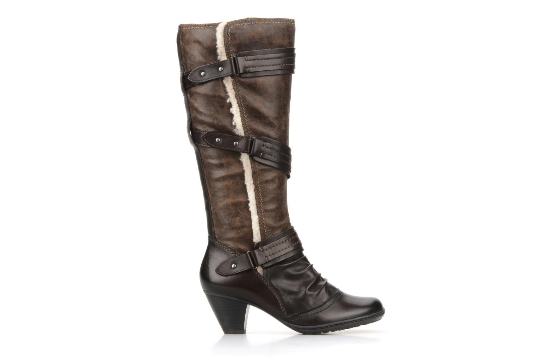 Eliz Mocca leather/ imit nappa