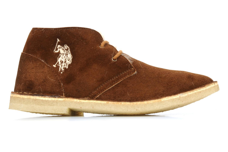 Chaussures à lacets U.S Polo Assn. Aileen Marron vue derrière