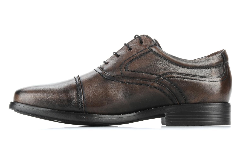 Lace-up shoes Fluchos Rafael 7749 Brown front view