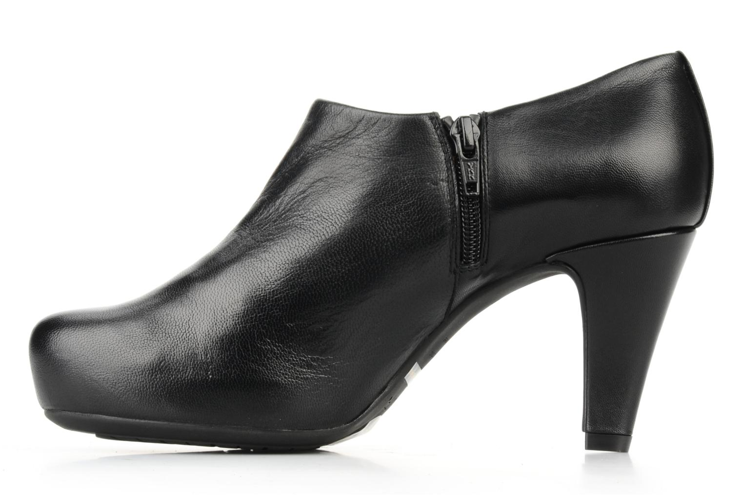 Ankle boots Unisa Nenet Black front view