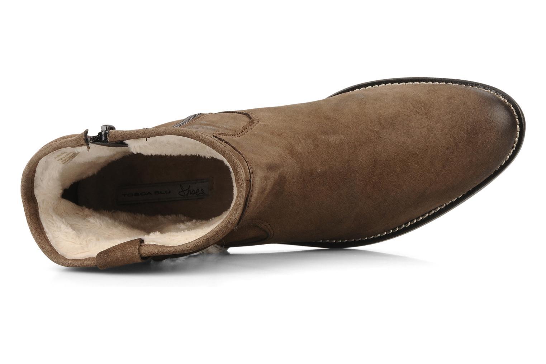 Stivaletti e tronchetti Tosca Blu Shoes Cefalu Marrone immagine sinistra