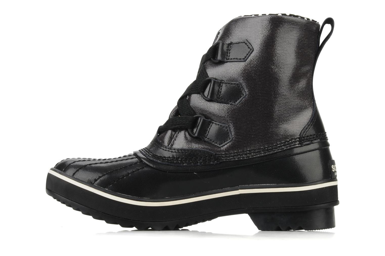 Boots en enkellaarsjes Sorel Tivoli Rain Zwart voorkant
