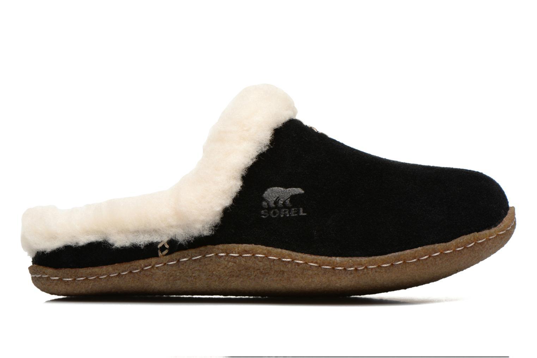 Pantoffels Sorel Nakiska slide Zwart achterkant