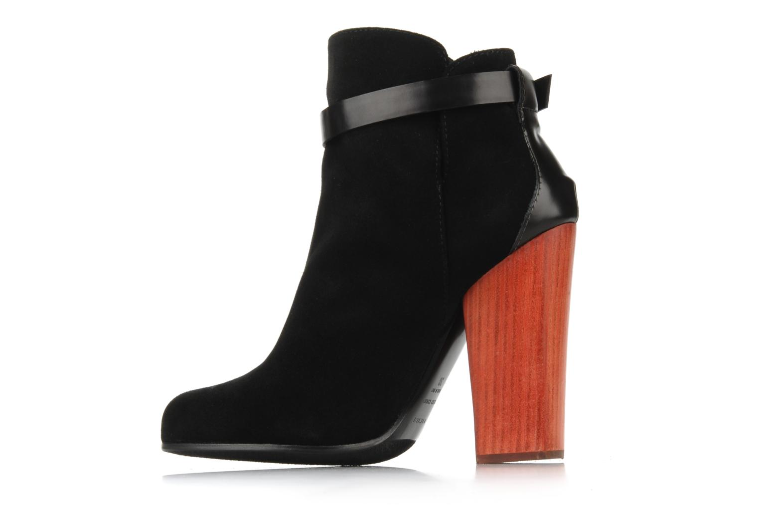 Ankle boots Vicini Varesa Black front view