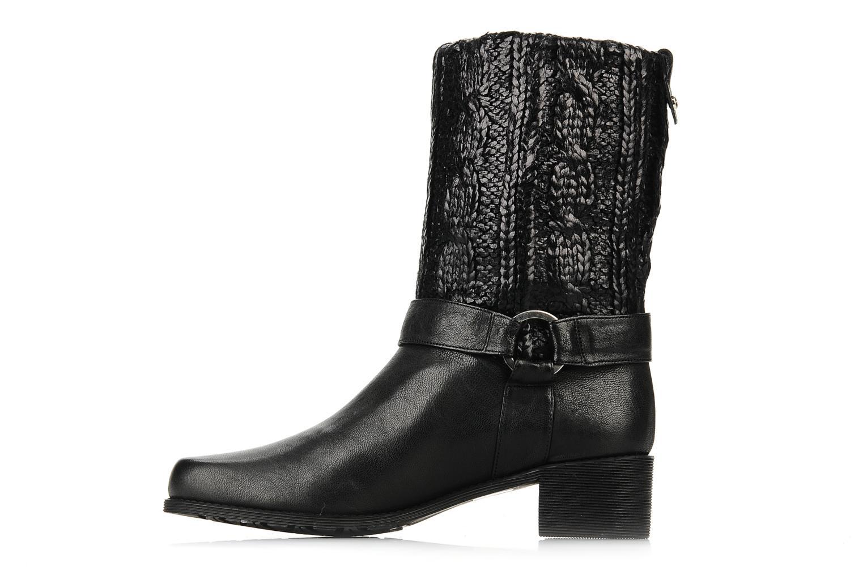 Bottines et boots Stuart Weitzman Pimlico Noir vue face