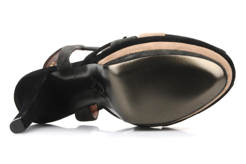 Sandali e scarpe aperte Ernesto Esposito Estevana Nero immagine dall'alto
