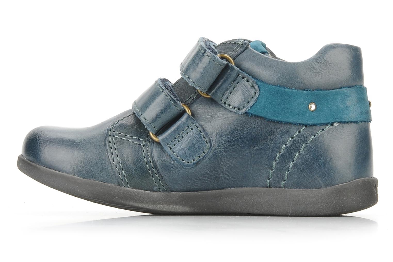 Chaussures à scratch Stones and Bones Sofi Bleu vue face