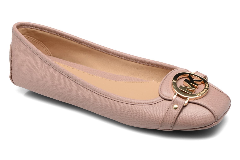 Ballet pumps Michael Michael Kors Fulton Moc Pink detailed view/ Pair view
