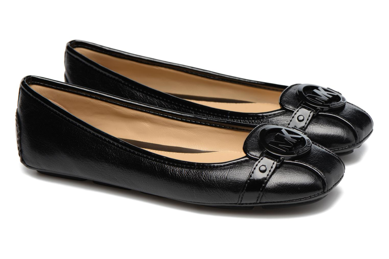 Ballet pumps Michael Michael Kors Fulton Moc Black 3/4 view