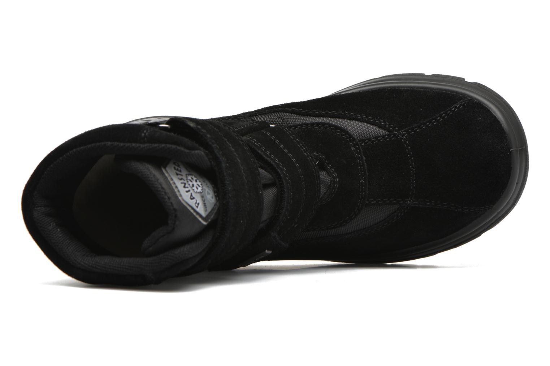 Stiefel Naturino Barents schwarz ansicht von links
