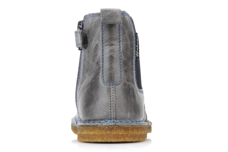 Bottines et boots Naturino Falcotto 2934 Gris vue droite