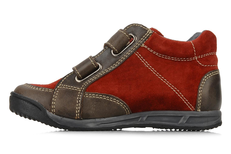 Sneakers Naturino Rilo Bruin voorkant