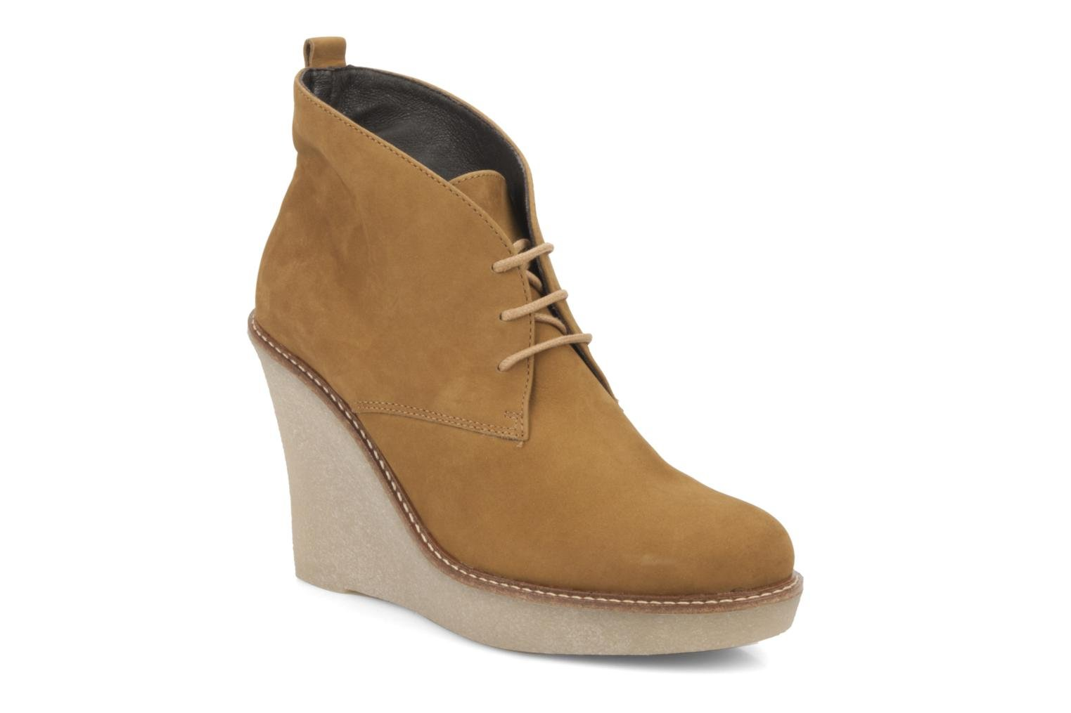 Ankle boots JB MARTIN Louve Brown detailed view/ Pair view