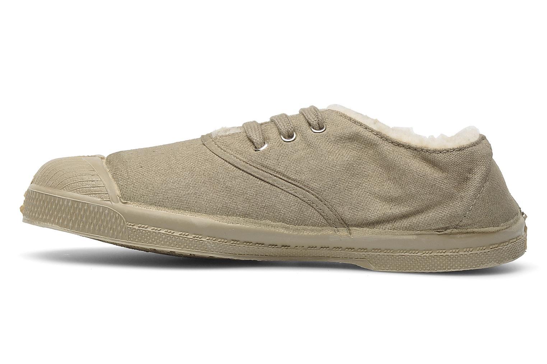 Sneakers Bensimon Tennis Fourrees E Beige voorkant