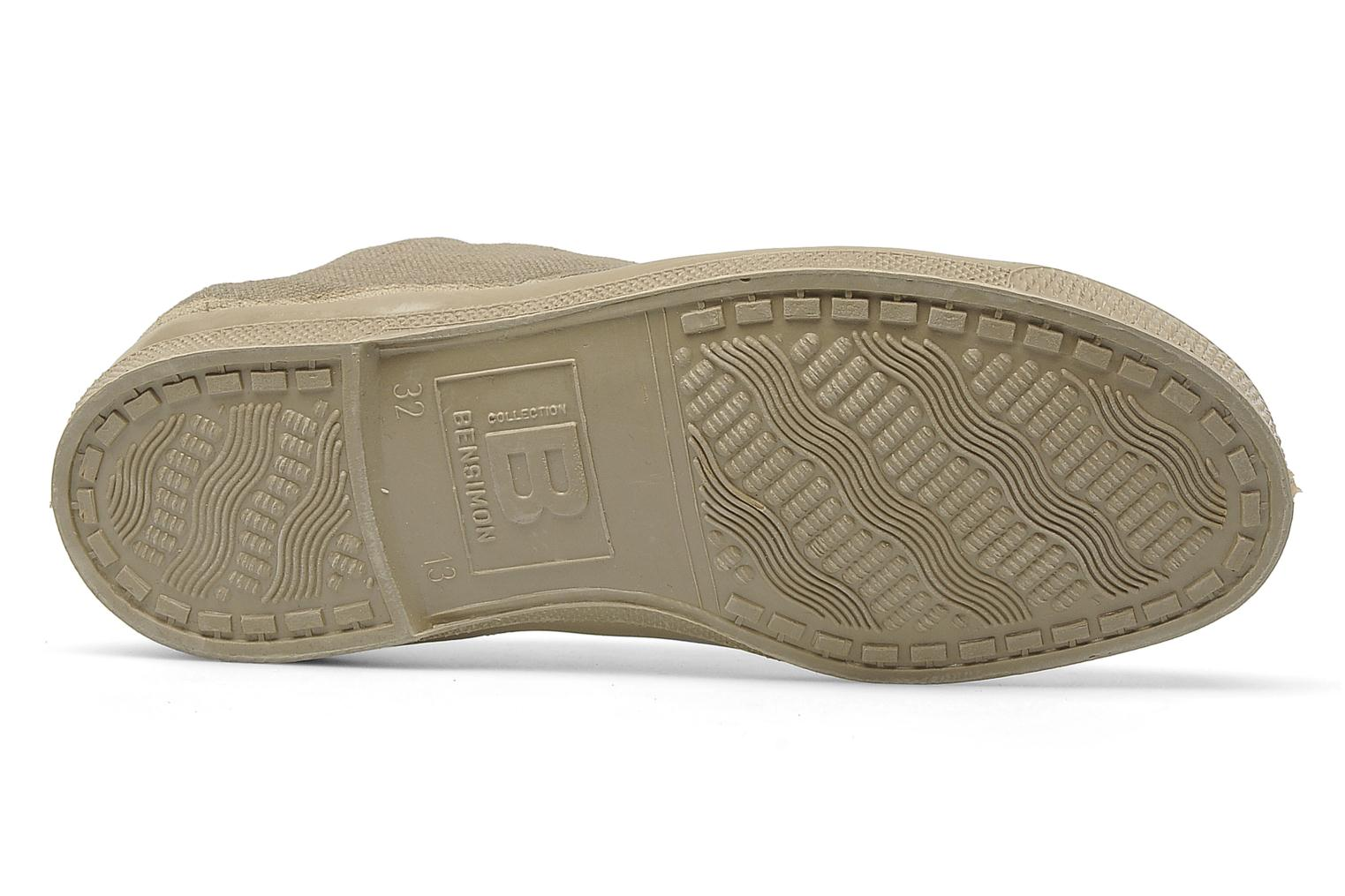 Trainers Bensimon Tennis fourrees e Beige view from above