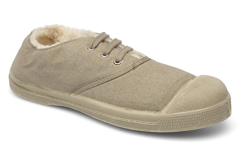 Sneakers Bensimon Tennis Fourrees E Beige detaljeret billede af skoene