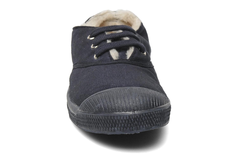 Sneakers Bensimon Tennis Fourrees E Blå bild av skorna på