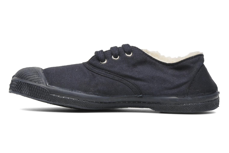 Sneaker Bensimon Tennis Fourrees E blau ansicht von vorne