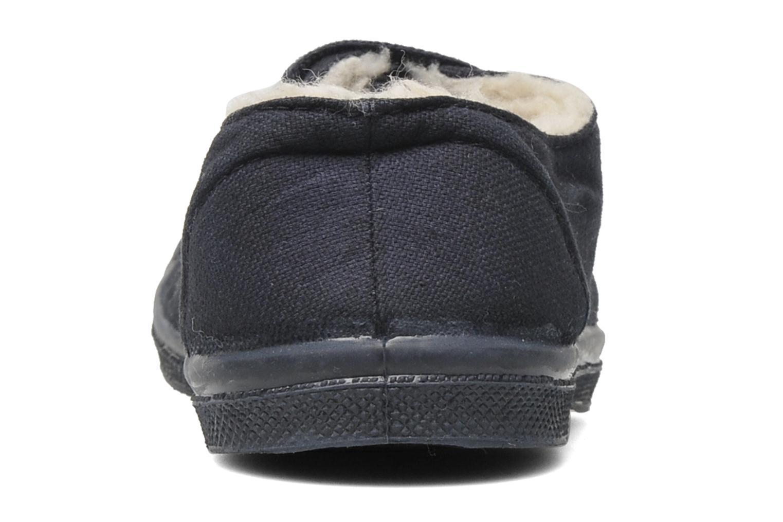 Sneaker Bensimon Tennis Fourrees E blau ansicht von rechts