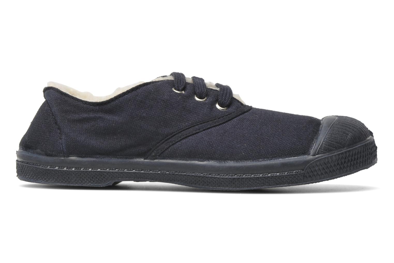 Sneakers Bensimon Tennis Fourrees E Blå bild från baksidan