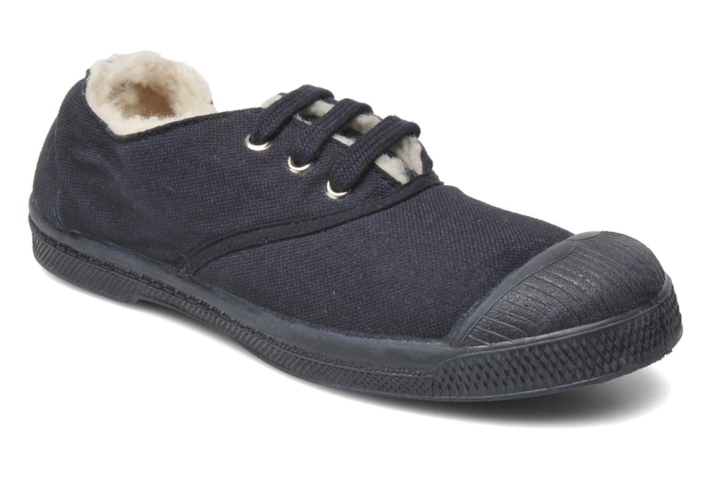 Sneaker Bensimon Tennis Fourrees E blau detaillierte ansicht/modell