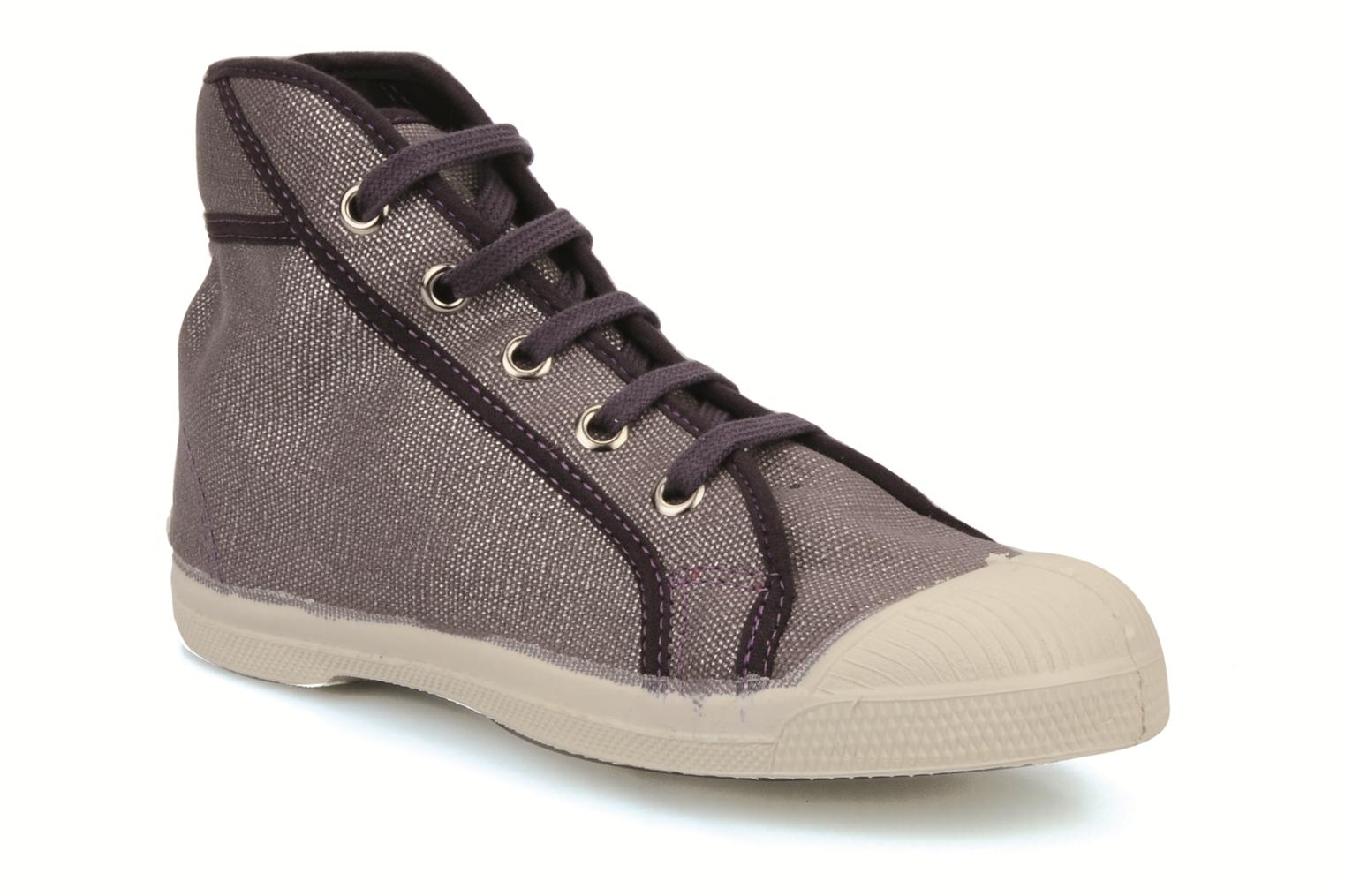 Sneakers Bensimon Tennis mid shinny e Paars detail