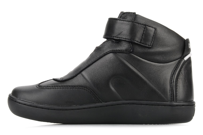 Ankle boots Camper Klick kids 90144 Black front view