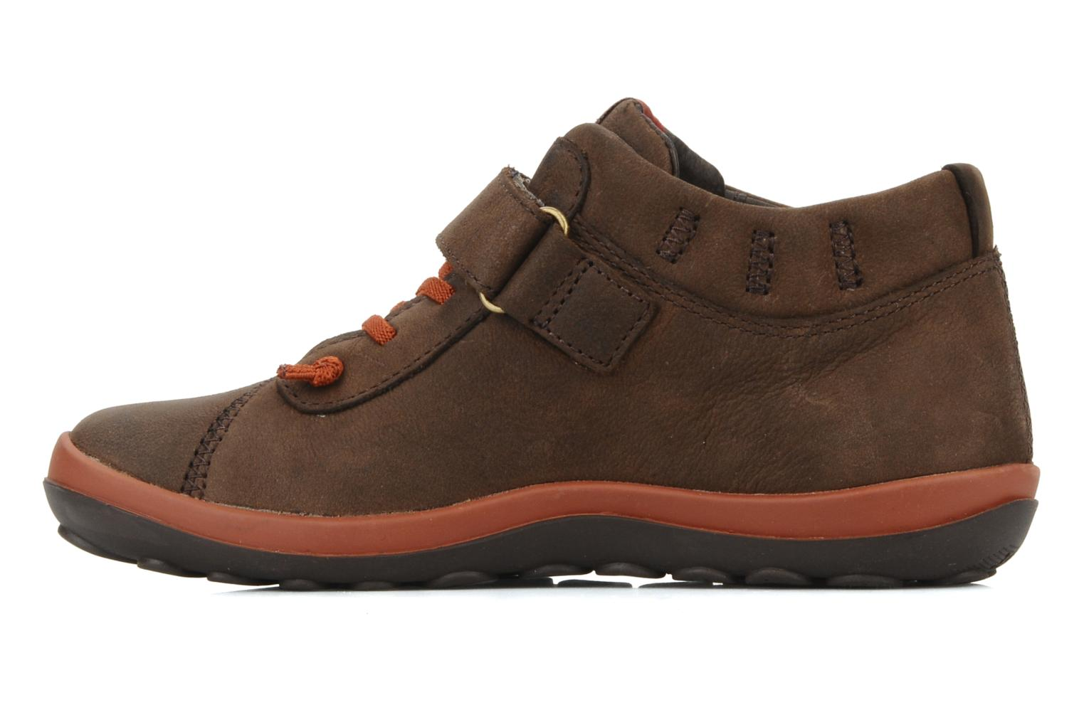 Trainers Camper Peu pista 90151 Brown front view