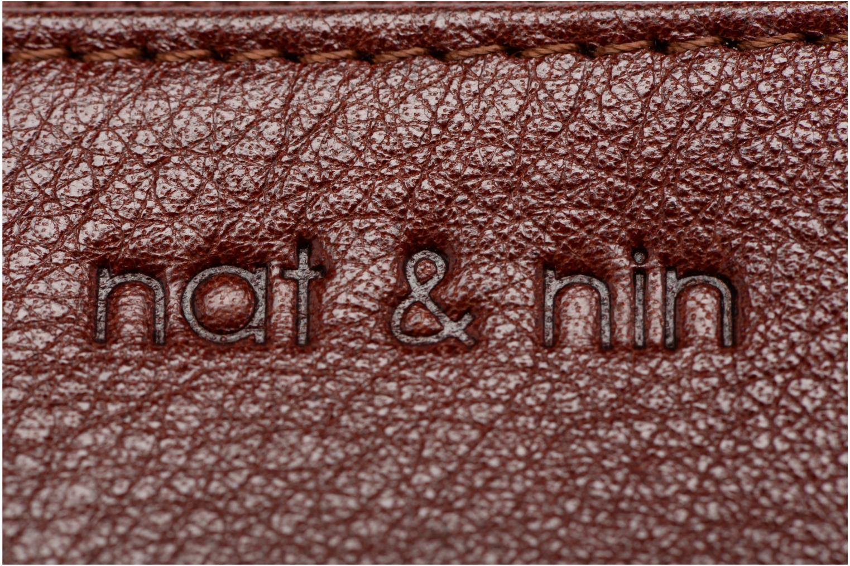 Portemonnaies & Clutches Nat & Nin Ally braun ansicht von links