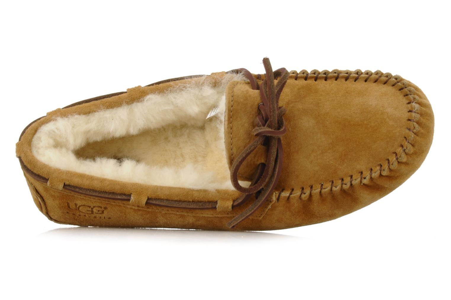 Loafers UGG Dakota Beige view from the left