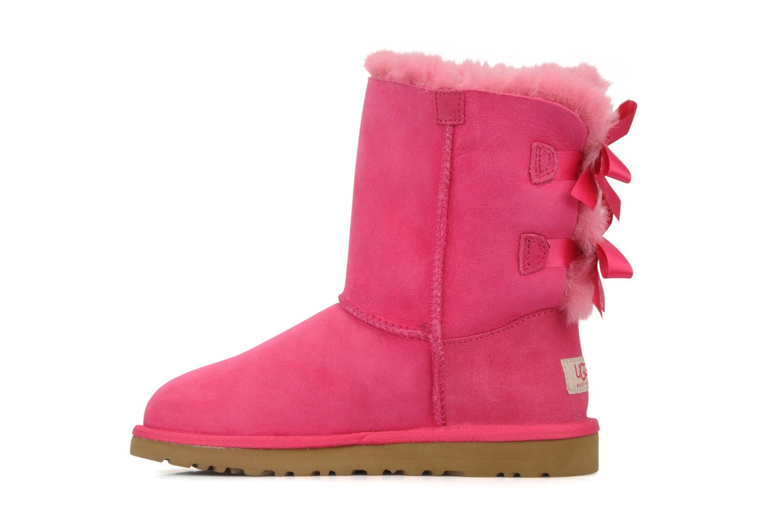 Botas UGG Bailey bow Rosa vista de frente