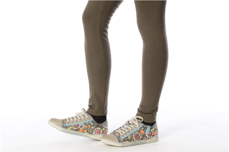 Baskets Mustang shoes Tornada Multicolore vue bas / vue portée sac