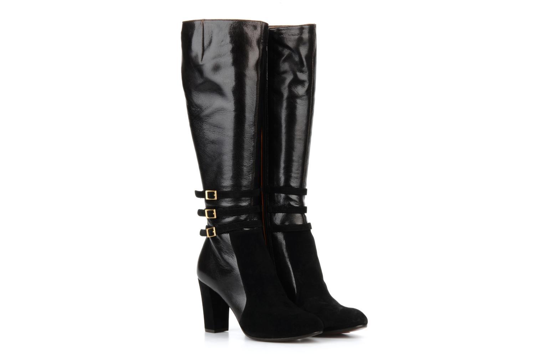 Boots & wellies Chie Mihara Yoshiko Black 3/4 view