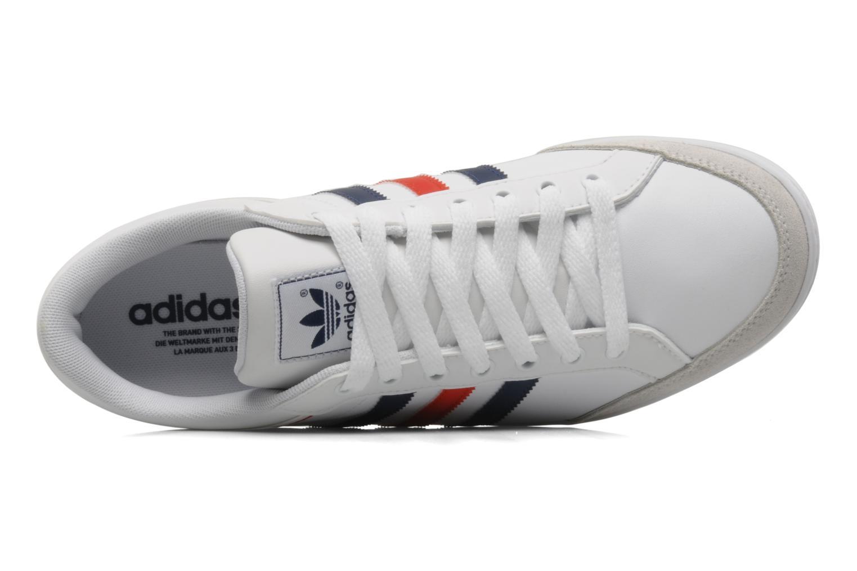 Baskets Adidas Originals Plimcana low Blanc vue gauche